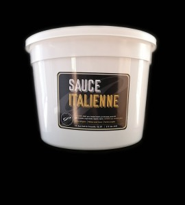Sauce italienne - 4 Litres