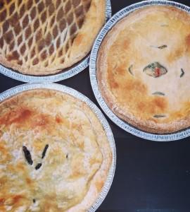 PROMOTION 3 pâtés ou tartes pour 30$